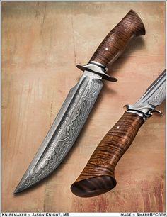 Knife Gallery | Jason Knight  mastersmithjasonknight.com