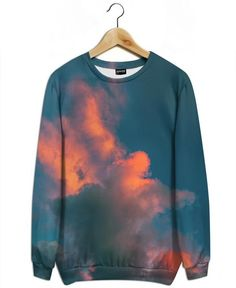 The Fire as All-Over Print Sweatshirt by Pale Grain | JUNIQE