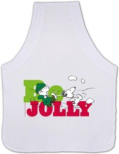 Snoopy Be Jolly Kendin Tasarla - Mutfak Önlüğü