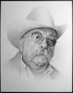 art by Don Reiber - Wilford Brimley
