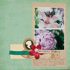 Simple scrapbook idea blog - awesomeness for clean easier scrapbooking!