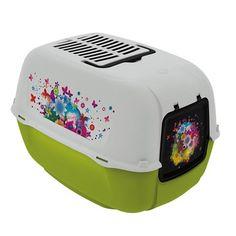 Toilet Home Prima Decor Verde Ferplast - Meuamigopet.com.br #cat #cats #gato #gatinho #bigode #muamigopet