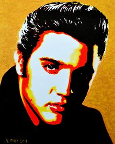 Elvis Presley Art Print Limited Edition Art Prints, personally inspected, numbered, approved and signed, with a Certificate of Authenticity
