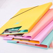 32x22 cm Tablero de Clip De Papel Clips Sujetapapeles A4 Papelería de Oficina de La Escuela con gancho portátil bloc de notas de Presentación productos(China (Mainland))