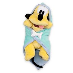 Mickey's pal Pluto comes to visit as a perky puppy plush snuggled up inside a super-soft blanket that you can personalize to make him all your own! No bones about it, he's cute! Disney Stuffed Animals, Cute Stuffed Animals, Cute Disney, Baby Disney, Disney Olaf, Disney Art, Disney Plush, Disney Toys, Toddler Toys