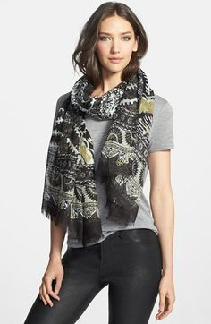 Tory Burch 'Madura' Scarf available at #Nordstrom