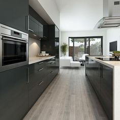 Modern kitchen grey 18 effective inspiration on modern kitchen grey