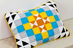 #etsy #cozyflax #patchwork #linen #quilt #toddler #handmade #cushion Dry Well, Patchwork Cushion, Pillow Covers, Baby, Cushions, Throw Pillows, Quilts, Fabric, Handmade