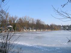 Kleiner Küchensee (Teil des Ratzeburger Sees) und Königsdamm in Ratzeburg im Kreis Herzogtum Lauenburg, Schleswig-Holstein, Deutschland