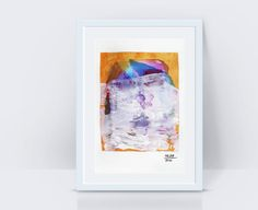White painting Abstract painting Landscape painting Art