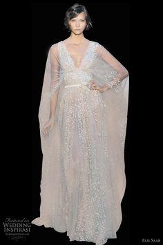 elie saab wedding dress fall 2011 couture