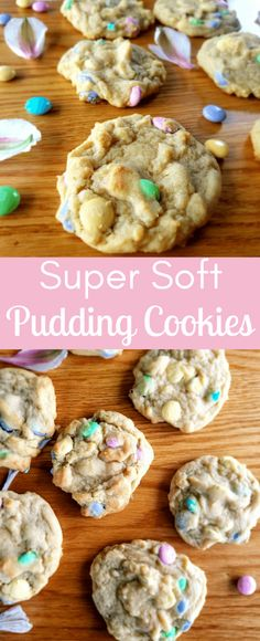 Super soft pudding cookies are a simple homemade cookie recipe for the softest cookie you will ever have. These super soft cookies will become your go-to recipe. Mix in M&Ms for a perfect cookie. #homemadecookies #cookies #freshfromtheoven