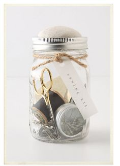DIY sewing kit  such a cute gifting idea for my little sisters!