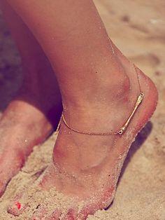 Free People Charm Ankle Bracelet