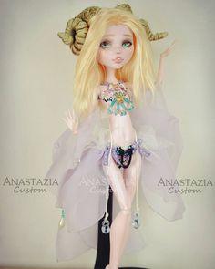 Anastazia Custom Monster High OOAK