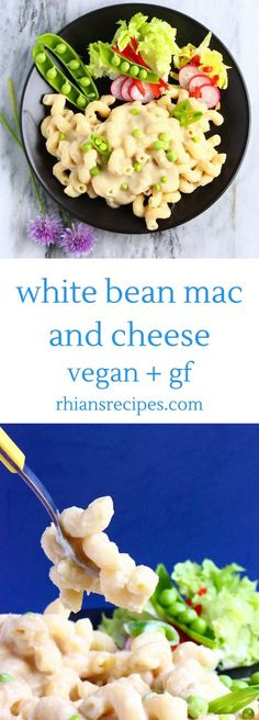 This Vegan White Bean Mac and Cheese is luxuriously creamy, so comforting, and easy to make. Full of protein and fibre, and also gluten-free