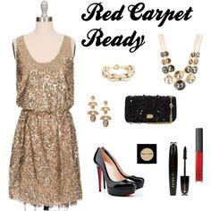 Red Carpet Ready -  #OscarsTheme #TrendyLime #HolidayEvent