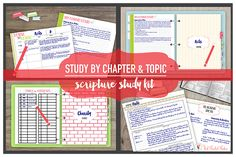 Scripture Study Tips Archives - The Red Headed Hostess