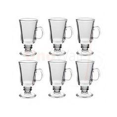 6 Glasses Set Irish Coffee Latte Tea Cappucino Hot Chocolate Cups Macchiato Mugs