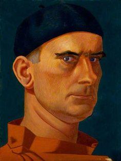 Self-portrait, 1937 by Edward Alexander Wadsworth (1889-1949)