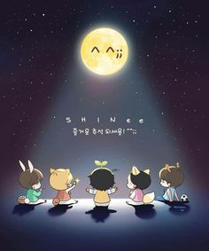 SHINee Fanart I want this on a t-shirt :D
