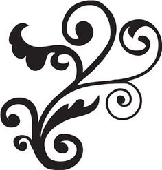 1000+ images about Scroll Design on Pinterest | Stencils, Scroll ...