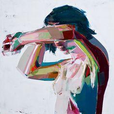 Powerful & Colorful Art from Simon Birch Simon Birch, Multimedia Artist, Colossal Art, Face Art, Art Faces, Figure Painting, Figurative Art, Amazing Art, Contemporary Art