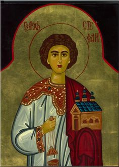 Saint Stephen, the first martyr of the Catholic Church- Feast Day December 26