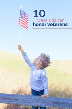 10 Ways Kids Can Honor Veterans #Give2Veterans (AD)