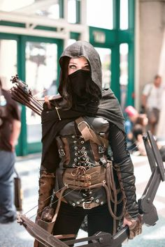 16 Awe Inspiring Steampunk Women Costumes - COSPLAY IS BAEEE! Tap the pin now to grab yourself some BAE Cosplay leggings and shirts! From super hero fitness leggings, super hero fitness shirts, and so much more that wil make you say YASSS! Moda Steampunk, Style Steampunk, Modern Steampunk Fashion, Fashion Goth, Fashion Outfits, Steampunk Cosplay, Steampunk Outfits, Steampunk Halloween, Steampunk Costume Women