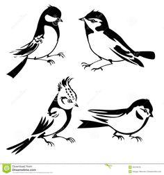 bird silhouette - Google zoeken
