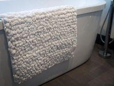 Knitted Twill Bath Mat