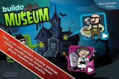 Buildo Museum Sticker Book, free