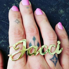 lo plate options name nameplate bundle tiny and chlo new rings