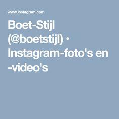 Boet-Stijl (@boetstijl) • Instagram-foto's en -video's