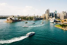 Our latest Sydney Travel Guide. The city is both a gateway into Australia and a destination in and of itself. Whatever you chase, you'll find it in Sydney. Best Places To Travel, Best Cities, Places To Visit, Kangaroo Island, Voyager Seul, Like A Local, Great Barrier Reef, Australia Travel, Sydney Australia