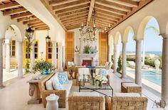 Interiors | A Mexican Villa - DustJacket Attic