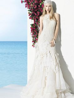 YolanCris   Vestidos de novia ibicencos BOHO GIRL de YolanCris