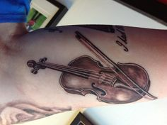 #Musical #tattoo