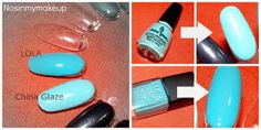 NOSINMYMAKEUP: Encontrando parecidos: * Poison Ivy LOLA Make Up* y * For Audrey China Glaze *