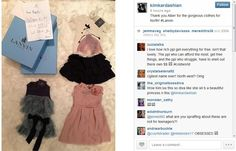 Click here to see the free designer clothes North West received at Paris Fashion Week.