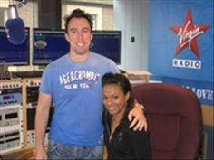 David Tennant pranks Freema Agyeman on Virgin Radio!  (starting at 3:08!)