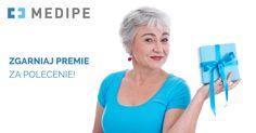 Wyjeżdżasz do pracy z Medipe? Znasz kogoś, kto zna język niemiecki i ma doświadczenie w opiece nad osoba starszą?  Poleć znajomemu pracę w Medipe! Otrzymasz od nas premię 410 zł brutto, a osoba, którą polecisz – prezent od Medipe.