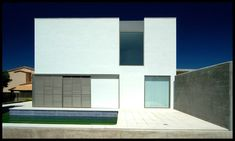 The construction consists of a cubic volume that is placed in the plot in order to release surface in the south zone where the swimming pool is located. Open spaces are designed, with great openings to the outside based on the orientation to the sun. This way, the relation between the interior...