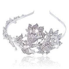 Ever Faith österreichisches Kristall Elegant Blätter Doppel Blume Braut Hochzeit Diadem Haarband Silber-Ton N02731-1 Ever Faith http://www.amazon.de/dp/B00IZBOP6G/ref=cm_sw_r_pi_dp_ZqBWvb0HV6VA4