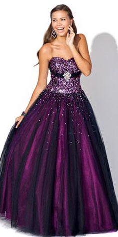 purple prom dress. Oh my gosh. This is absolutely amazing.