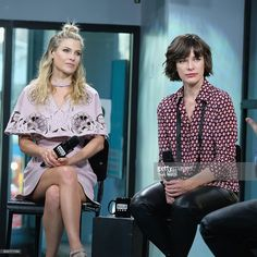 Build Series Presents Ali Larter and Milla Jovovich Discussing 'Resident Evil: The Final Chapter' at Build Studio on January 26, 2017 in New York City.
