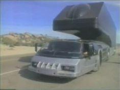 "Steinwinter Commercial Motor Vehicle in ""The Highwayman"" Gi Joe, Colani Truck, 80s Shows, Luxury Motorhomes, Big Rig Trucks, Truck Design, Futuristic Cars, Camping Gear, Motor Car"