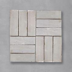 Handmade Tile Backsplash, Backsplash Tile Design, Herringbone Tile, Neutral Tile, Cle Tile, Handmade Tiles, Painting Tile, Painting Tile Floors, Tile Patterns
