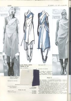 Fashion Sketchbook page layout with dress sketches, fabrics & fashion design development; fashion portfolio // Haizhen Wang : Fashion Sketchbook page layout with dress sketches, fabrics & fashion design development; Sketchbook Layout, Textiles Sketchbook, Sketchbook Pages, Sketchbook Ideas, Fashion Design Portfolio, Fashion Design Drawings, Fashion Sketches, Dress Sketches, Fashion Illustrations